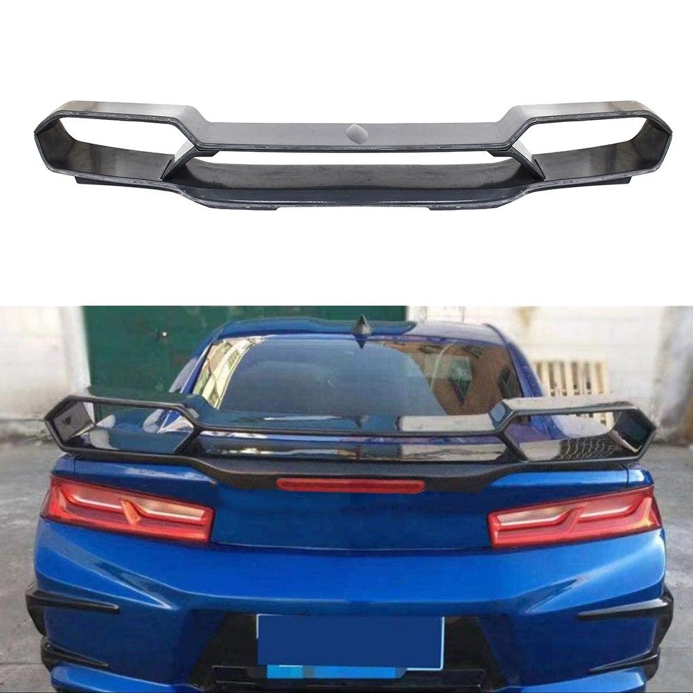 Lotka Lip Chevrolet Camaro 2016 ABS Dark Grey - GRUBYGARAGE - Sklep Tuningowy